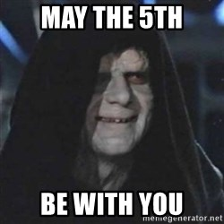 Sith Lord - May the 5th be with you