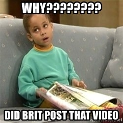 Olivia Cosby Show - WHY???????? DID BRIT POST THAT VIDEO