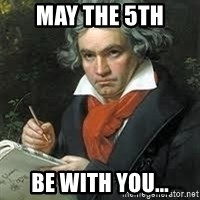 beethoven - May the 5th Be with you...