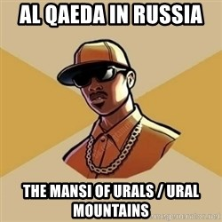 Gta Player - Al Qaeda in Russia  The Mansi of Urals / Ural Mountains