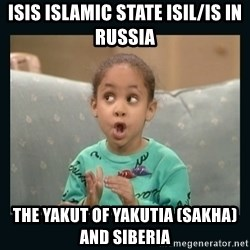 Raven Symone - ISIS Islamic State ISIL/IS in Russia  The Yakut of Yakutia (Sakha) and Siberia