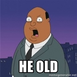 ollie williams -  He old
