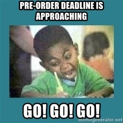 I love coloring kid - pre-order deadline is approaching go! go! go!