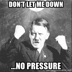 Disco Hitler - Don't let me down ...no pressure