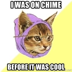Hipster Kitty - I was on CHIME Before it was cool