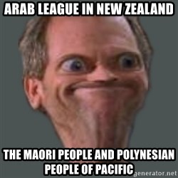 Housella ei suju - Arab League in New Zealand The Maori People and Polynesian People of Pacific