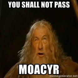 Gandalf You Shall Not Pass - you shall not pass moacyr