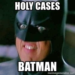 Goddamn Batman - Holy cases batman