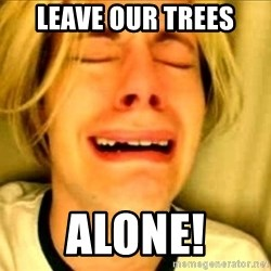 Leave Brittney Alone - Leave our Trees alone!