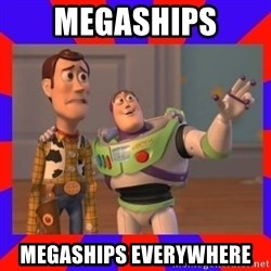 Everywhere - megaships megaships everywhere