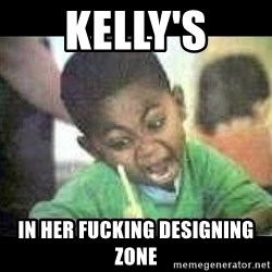 Black kid coloring - Kelly's in her fucking Designing zone