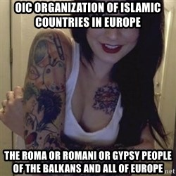 Alyssa Rosales - OIC Organization of Islamic Countries in Europe The Roma or Romani or Gypsy People of the Balkans and all of Europe