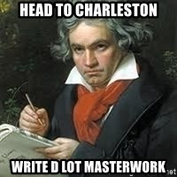 beethoven - Head to charleston write d lot masterwork