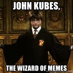 Harry Potter Come At Me Bro - john kubes, the wizard of memes