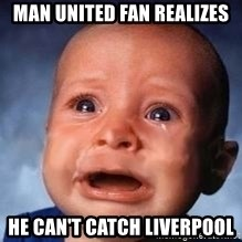 Very Sad Kid - Man united fan realizes He can't catch liverpool