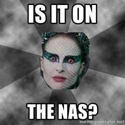 Black Swan Eyes - IS IT ON THE NAS?