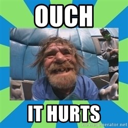 hurting henry - Ouch It Hurts