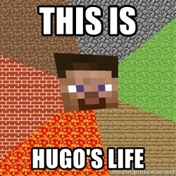 Minecraft Guy - THIS IS  HUGO's Life