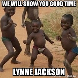 Dancing African Kid - we will show you good time lynne jackson
