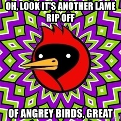 Omsk Crow - oh, look it's another lame rip off of angrey birds, great
