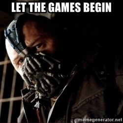 Bane Permission to Die - LET THE GAMES BEGIN