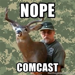Chuck Testa Nope - Nope comcast