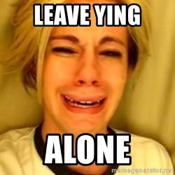 You Leave Jack Burton Alone - leave Ying Alone