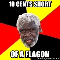 Abo - 10 CENTS SHORT OF A FLAGON