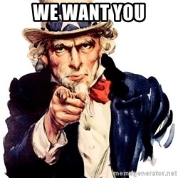 Uncle Sam Point - We want you