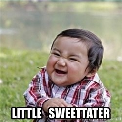 evil plan kid -    little   sweettater