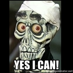Achmed the dead terrorist -  yes i can!