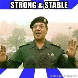 Comical Ali - Strong & Stable