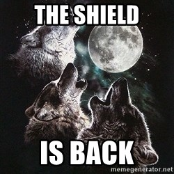 Lone Wolf Pack - THE SHIELD IS BACK