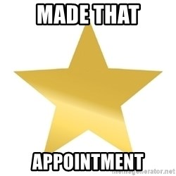 Gold Star Jimmy - made that appointment