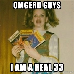 Goosebumps Girl Sings - Omgerd guys I am a real 33