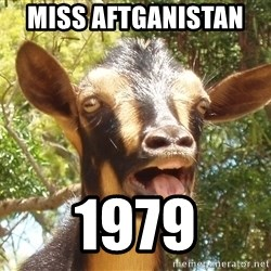 Illogical Goat - Miss Aftganistan   1979