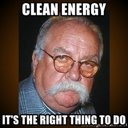 Wilford Brimley - Clean energy It's the right thing to do