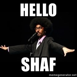 AFRO Knows - Hello Shaf