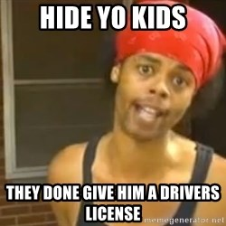 Antoine Dodson - Hide yo kids they done give him a drivers license