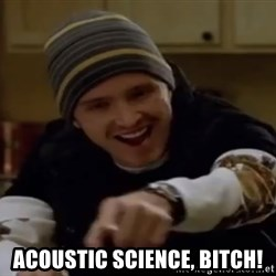 Science Bitch! -  Acoustic Science, bitch!