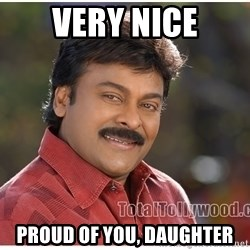 Typical Indian guy - Very nice PROUD OF YOU, DAUGHTER