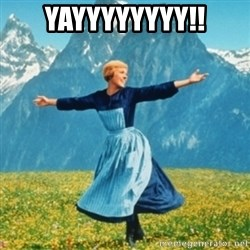 Sound Of Music Lady - YAYYYYYYYY!!