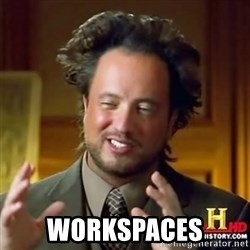 Alien guy -  Workspaces