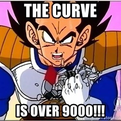Over 9000 - The curve  is over 9000!!!