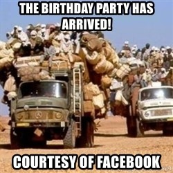 BandWagon - THE BirthDAY Party HAs ARRIVED! Courtesy of FaceBook