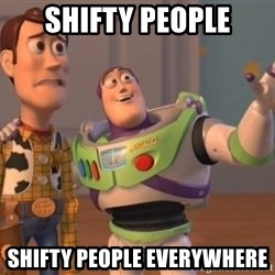 Tseverywhere - Shifty people Shifty people everywhere
