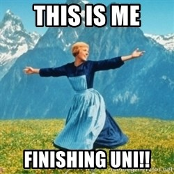 Sound Of Music Lady - This Is Me finishing uni!!