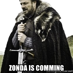 Ned Stark -  Zonda Is comming