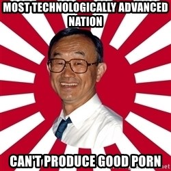 Crazy Perverted Japanese Businessman - most technologically advanced nation can't produce good porn
