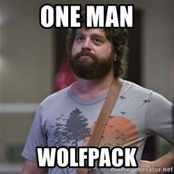 Alan Hangover - One Man Wolfpack